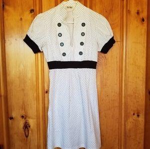 BeBop Pinup style polka dot dress